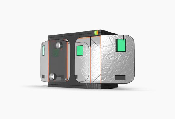 Green Qube V Grow Tent GQ1224 1.2 x 2.4 x 2m OR 2.2m