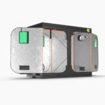 Green Qube V Grow Tent GQ1224 1.2 x 2.4 x 2m OR 2.2m SIDE