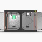 Green Qube V Grow Tent GQ1530 1.5 x 3 x 2m OR 2.2m FRONT