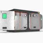 Green Qube V Grow Tent GQ1530 1.5 x 3 x 2m OR 2.2m SIDE
