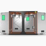 Green Qube V Grow Tent GQ240 2.4 x 2.4 x 2m OR 2.2m FRONT