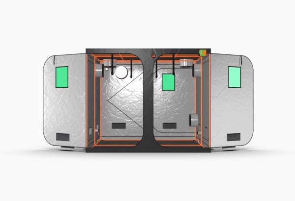 Green Qube V Grow Tent GQ240 2.4 x 2.4 x 2m OR 2.2m