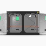 Quick Qube Grow Tent QQ2030 2 x 3 x 2.2m FRONT