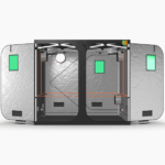 Quick Qube Grow Tent QQ240 2.4 x 2.4 x 2.2m FRONT