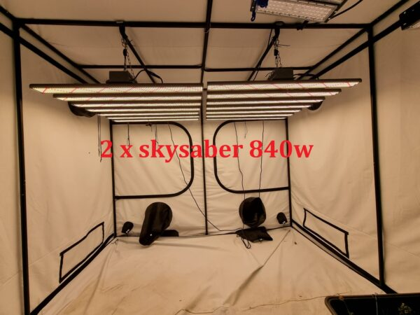 Skysaber PRO 840w MK2 LED grow lights-