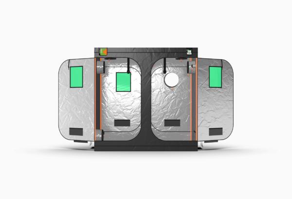 Green-Qube V: 1020L Grow Tent – 1m x 2m x 2.2m